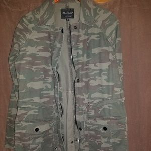 Sanctuary camouflage army jacket